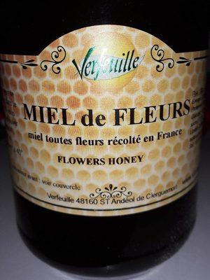Miel de fleurs des Cevennes VERFEUILLE