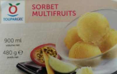 Sorbet multifruits