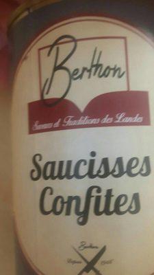 Saucisses Confites 400gr