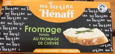 Fromage fondu au fromage de chevre