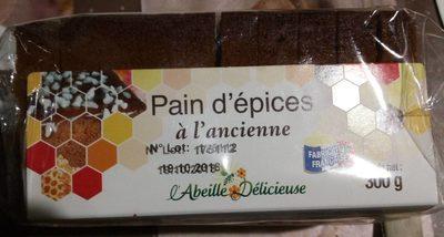 Pain d'épices à l'Ancienne Au Miel 25%