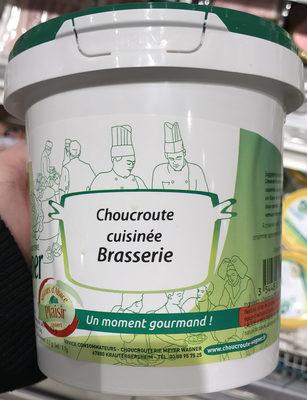 Choucroute cuisinée brasserie