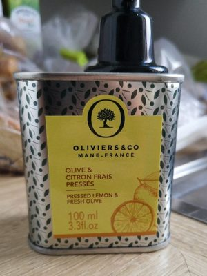 Olive&citron frais pressés