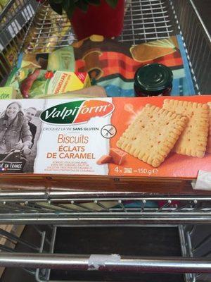 Biscuits Eclats De Caramel