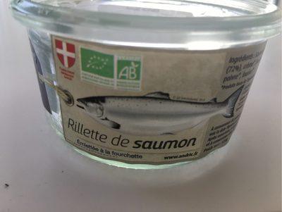 Rillette de saumon ANDRIC