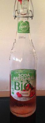 Soda Artisanal Bio à la Fraise