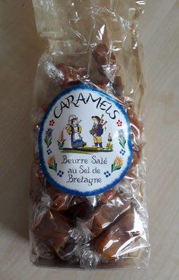 Caramels beurre salé au sel de Bretagne