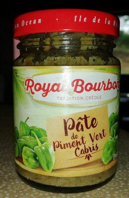 Pâte De Piment Cabris Vert 90G Royal Bourbon