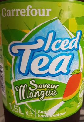 The glace Darjeeling, saveur mangue