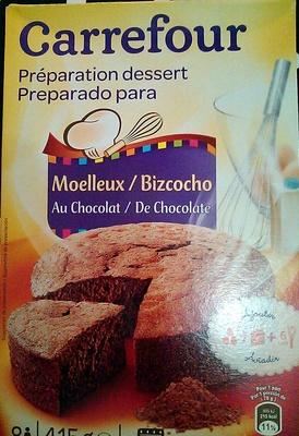 Préparation Dessert Moelleux au Chocolat