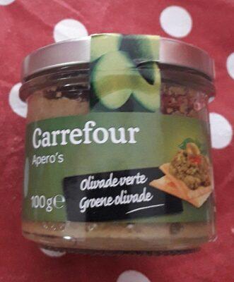 Préparation condimentaires à base d'olives vertes