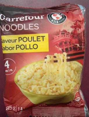 Noodles saveur poulet
