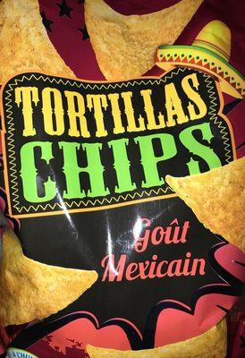 Tortillas chips goût mexicain