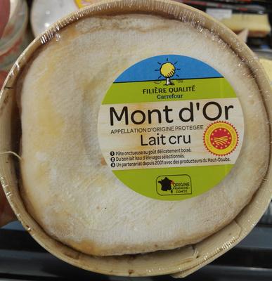 Mont d'Or lait cru