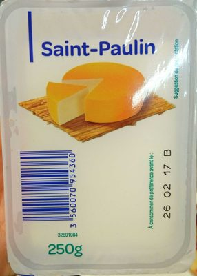 Saint-Paulin (23 % MG)