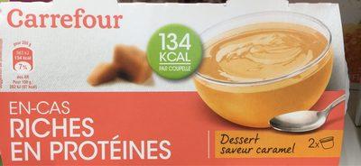 En Cas Riche en Protéine Saveur Caramel