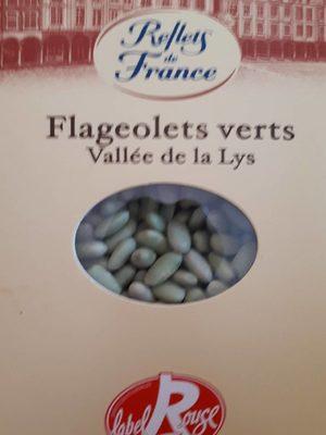 Flageolets verts vallée de la Lys
