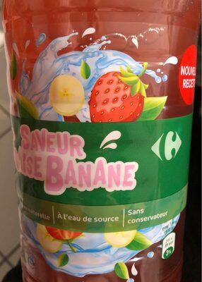 Saveur fraise banane