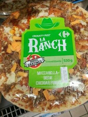 crousty pizz La ranch