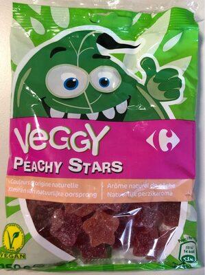 Veggy peachy stars