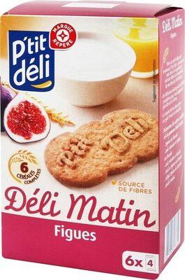 Biscuits petit déjeuner à la figue