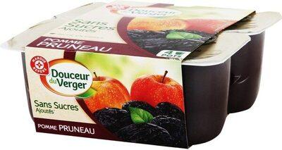 Compote pomme-pruneaux sans sucres ajoutés
