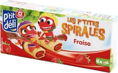 P'tites spirales fraise