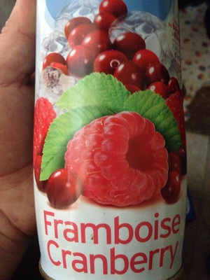 Framboise cranberry