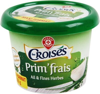 Fromage à tartiner ail et fines herbes 24%mg