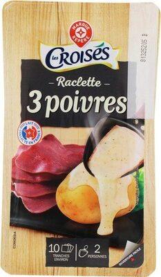 Raclette 3 poivres 26 % Mat. Gr.