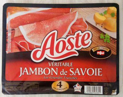 Véritable jambon de Savoie, les grandes tranches
