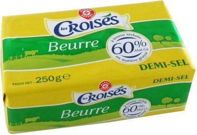 Beurre allégé demi-sel 60% Mat. Gr.