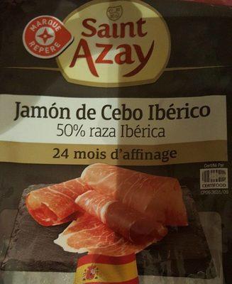 Jambon Espagnol Ibérique 24 mois d'affinage 4 tranches
