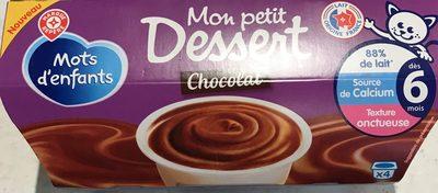 Mon petit dessert Chocolat