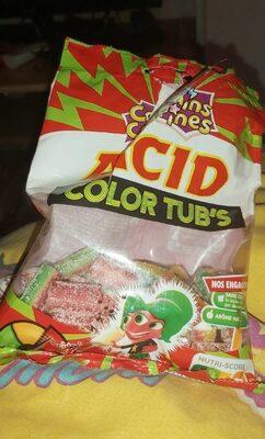 Acid color tub's