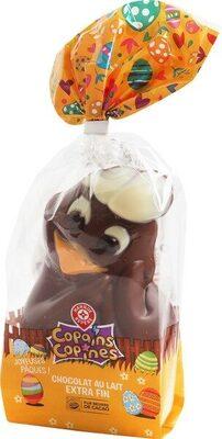 Chocolat au lait 'Moulage cocotte pour Pâques'