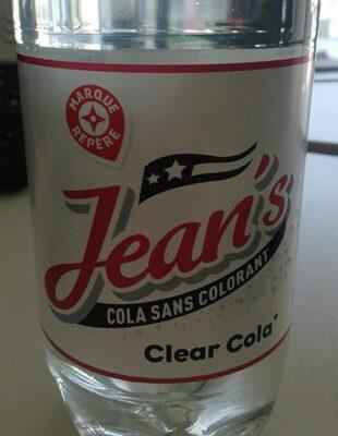 Jean's cola sans colorant