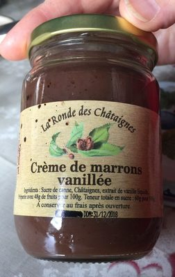 Creme de marrons vanillée