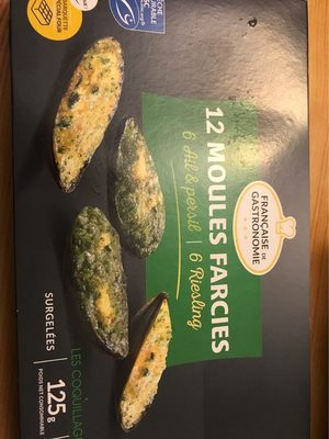 12 moules farcies
