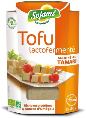 Tofu Lactofermenté mariné au tamari