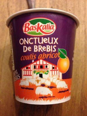 Onctueux de brebis Coulis Abricot