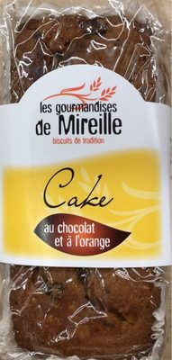 Cake au chocolat et à l'orange