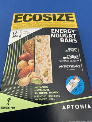 Energy nougat bars