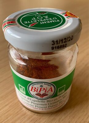 Piment d'espelette BIO