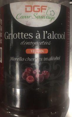 Griottes à l'alcool
