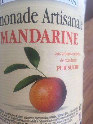 Limonade artisanale mandarine