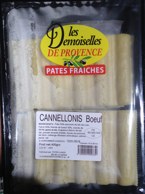 Cannellonis Boeuf