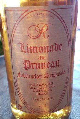 Limonade de Pruneau