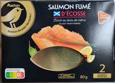 Saumon Fumé Des Lochs D' Écosse