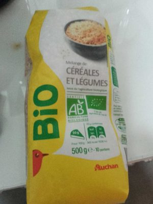 Mélange de céréales et légume